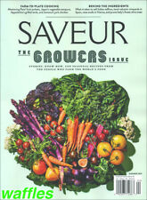 SAVEUR * SUMMER 2019  ISSUE #198 * THE GROWERS Brand New!