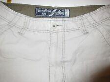 WearFirst~Cargo Khaki Pants Tag 30 x 32 Measured 31 x 30.5 100% Cotton 7 Pockets