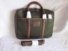NEW Polo Ralph Lauren Men's OLIVE Green Canvas Messenger Bag RETAIL $350