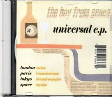 (DH583) The Boy From Space, Universal EP - 2009 DJ CD