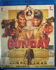 GUNDAY - YASH RAJ DVD FILMS BOLLYWOOD BLU RAY (2 Disc Set) - Ranveer Singh.