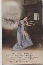 POSTCARD  SONG CARDS  The Lost Chord  (2)
