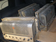 PAIR RCA PROFESSIONAL HIGH POWER OLD THEATRE CINEMA AMPLIFIER 4 X 807 Tube
