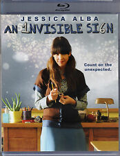 AN INVISIBLE SIGN-Quirky JESSICA ALBA hides in her world of numbers-BLU RAY