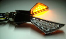 2 LED TURN SIGNAL CARBON DUCATI 748 749 999 848 1098 1198 100 Sport 160 Monza