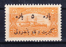 TURKEY OTTOMAN REVENUE 1921 - MATCH REVENUE 5 Para MNH - Kibrit ve Kav bandrolu