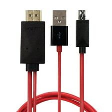 MHL Micro USB Connector HDMI Adapter Cable HDTV For Samsung Galaxy Note 3 III S4