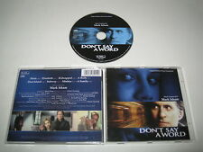 DON'T SAY A WORD/SOUNTRACK/MARK ISHAM(VARESE SARABANDE/VSD-6291)CD ALBUM