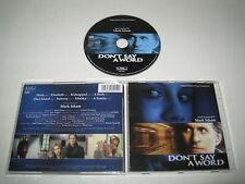 DON'T SAY A WORD/SOUNTRACK/MARK ISHAM(VARESE SARABANDE/VSD-6291)CD ALBUM