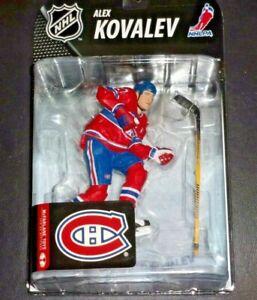 "2008 McFarlane NHL Montreal Canadians ALEX KOVALEV Action Figure 7"" Unopened/New"