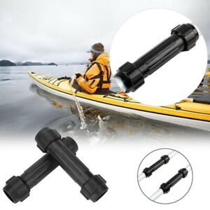 Quick Release Paddle Connector Adjustable Black Boating Fishing Durable