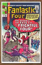 Fantastic Four #36 poster art print '92  Jack Kirby  Frightful Four