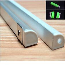 5m 10pcs 0.5m 45degree corner led aluminium profile for 10mm 5050 ,3528 strip