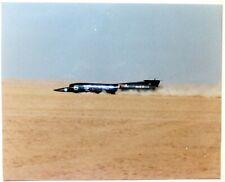 Land Speed Record: Thrust SSC At Speed Over Black Rock Desert Nevada