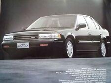 MF Nissan Maxima FOLLETO 1991 JDM J30 HJ30NAE VG30E tipo I II se 日産 マキシマ
