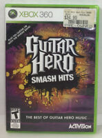 Guitar Hero: Smash Hits (Microsoft Xbox 360, 2009) Game Complete with Manual