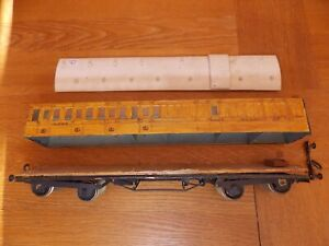 KIT BUILT LNER 4-COMPARTMENT ALL 3rd BRAKE COACH requires re-building. 0 Gauge.
