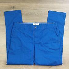 Original Pengin Blue Men's Pants by Musingwell Golf Chinos Size 36 NWOT (L8)