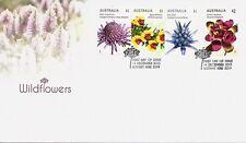 2015 Australia - Wildflowers Fdc - Botany Nsw 2019 Pmk