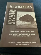 hawbaker's general trapping catalog, 1967. Order form fill out. Envelopes+
