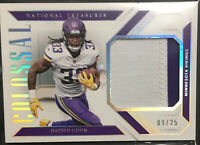 2018 Dalvin Cook National Treasures Colossal 2 Color Patch /25!