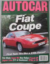 AUTOCAR 5/7/1995 featuring Fiat Coupe 16v Turbo, Rolls Royce, Porsche 917/30