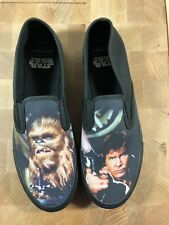 New Sperry Slip On Star Wars Collectible Shoes, Han Solo And Chewbacca