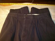 polo chino by ralph lauren 35 x 29 pleated not cuffed 100% cotton #424