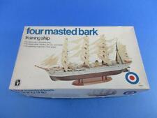 ENTEX 8475 FOUR MASTED BARK TRAINING SHIP, 1/400, MIB!