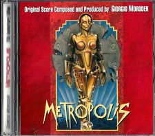 METROPOLIS Giorgio Moroder ORIGINAL SCORE + BONUS MUSIC