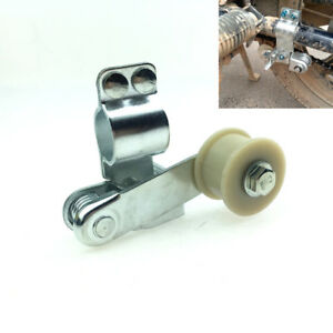 Motorcycle Chain Tensioner Adjuster Anti-skid Chain Guide chain Bolt On Roller