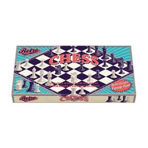 Retro Games Chess Board Game NEW