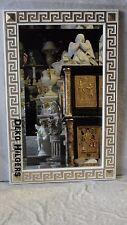 Spiegel Stuckgips Barock Art Medusa Dekoration Deko NEU Facettenschliff Groß 108