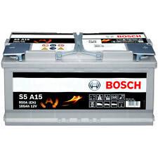 Bosch S5A15 Autobatterie AGM 12V 105Ah 950A S5A15 Starterbatterie 0 092 S5A 150