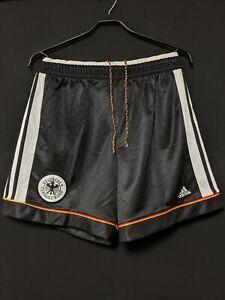 1998-99 Germany Home Football Shorts Soccer adidas Size:L
