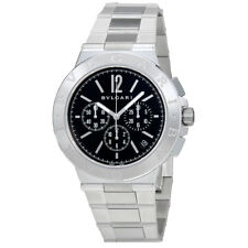 Bvlgari Diagono Velocissimo Black Dial Chronograph Automatic Mens Watch 102330