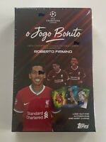 Topps UEFA Champions League Roberto Firmino Curated Set O Jogo Bonito  - In Hand