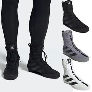Mens ADIDAS BOX HOG 3 Boxing Boots Light Boxing Shoes NEW