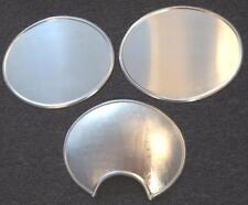 Husqvarna Rickman Cheney SET/3 handmade alloy number plates ISDT 105mm headlight