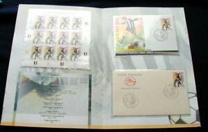 2003 Italy soccer football JUVENTUS official folder stamps postcard cover FDC