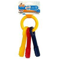 Nylabone Puppy Teething Keys Dog Chew Toy Puppies Canine Dental Hygiene New
