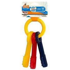 Nylabone Puppy Teething Keys Dog Chew Toy Puppies Canine Dental Hygiene Gift