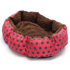 Pet Dog Cat Bed Soft Nest Puppy Cushion Warm Kennel Mat Washable Winter T9M7