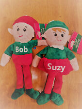 Plush Elf On The Shelf personalized with any name girl or boy elf elves