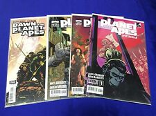 PLANET OF THE APES #1,3,7 (BOOM STUDIOS/DAWN OF THE PLANET #1/121599) SET OF 4