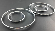 E30 Chrome Cluster gauge Dashboard rings speedo Dial 320i M325i BMW M3 3 Series