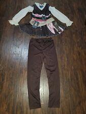 Girls Disney Pirates of Caribbean Dead Men Halloween Costume Youth Large 10/12