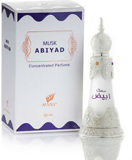 Musk Abiyad (20 ml) very authentic woody warm musky oil by Afnan Perfumes
