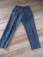 LADIES GREY POLYESTER SMART/ CASUAL PANTS BY BLACK PEPPER - SIZE 8 - CHEAP