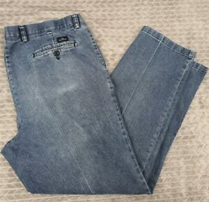 Dockers Pleated Classic Fit Blue Jeans 38x32